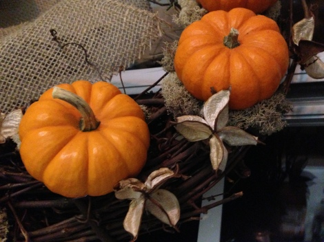 Pumpkin Wreath Project 4