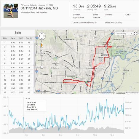 MS Blues Half Marathon