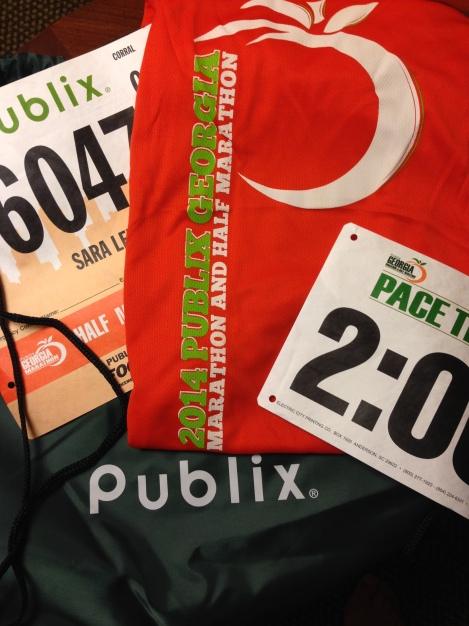 Race Number Schwag