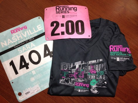 3 Race Bib and Shirt